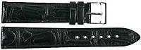 Ремешок для часов из кожи крокодила  SPMC-S01 Black