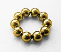 Неокуб золото  5мм 10 шариков запасные