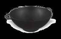 Чугунная сковорода WOK  эмалированная d=300 мм, h=90 мм