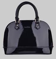 Деловая лаковая сумка. Стильная сумка. Женская сумка. Жесткая сумка. Интернет магазин. Код: КЕ102
