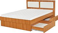 Кровать «Комфорт» с выдвижными ящиками (с двух сторон)