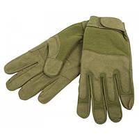 Универсальные перчатки Mil-TEC размер М, цвет олива.