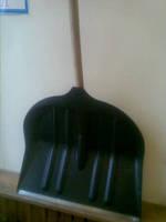 Лопата для чистки снега (ручка+крепление+держак)