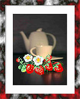 """Клубничный чай» 15 х 20 см."