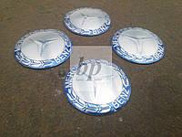 Наклейки на заглушки литых дисков (колпачки) с логотипом mercedes-benz (мерседес-бенз)