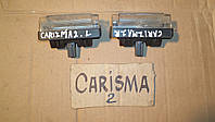 Плафон освещения номерного знака Mitsubishi Carisma Каризма 2000 г.в., MR 485387, MR485387