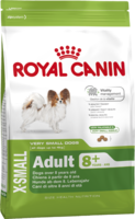 Сухой корм для собак миниатюрных пород (вес до 4 кг) старше 8 лет Royal Canin X-Small Adult 8+ 0.5 кг.