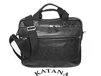 Сумка кожаная для ноутбука Katana 21166