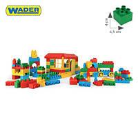 Конструктор 132 элементов в коробке Wader 41270