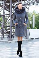 """Женское зимнее пальто """" Мирей"""" от 44 до 56 размера"""