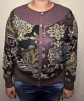 Красивая женская кофта в модный принт