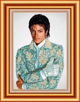 Схема для вышивки бисером Майкл Джексон. Арт. СКВ-61