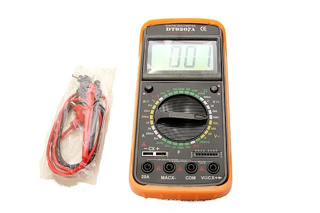 Мультиметр DT-9207A в Украине.