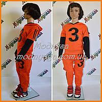 Спортивный костюм детский под адидас | Костюм для мальчиков полоски