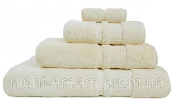 Банное махровое полотенце 70х140 Hamam PERA IVORI