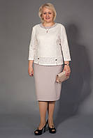 Очаровательное женское платье приталенное делового стиля от производителя