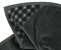 Эксклюзивные полотенца  украшенные  кристаллами SWAROWSKI.  Hamam PREMIUM DARK GREY