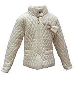 Куртка демисезонная на флисе для девочки 4468-222