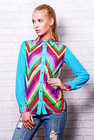 Блуза - рубашка Valentino цветная