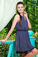 Синее платье летнее для женщин