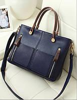 Стильная кожаная сумка. Модная сумка. Женская сумка. Доступная цена. Интернет магазин. Код: КЕ113