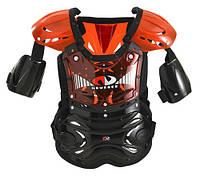 Детская защита для мотокросса NM-601 красная