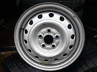 Диски б\у, стальные: R14 (PCD 5x100) ET55 на Subaru