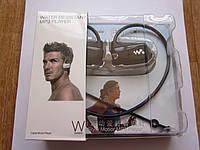 Беспроводные влагозащищенные спортивные наушники MP3 плеер Sony NWZ-W273 8Gb Black