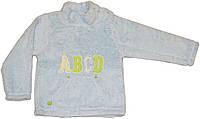 Махровый детский свитер, очень теплый, на кнопках, рост 92 см, 98 см, Фламинго