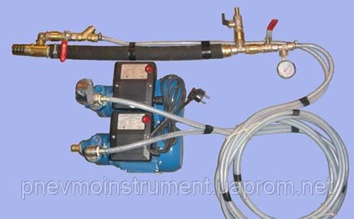 Газожидкостная установка производства пеноизола своими руками