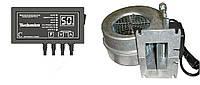 Автоматика для твердотопливных котлов МРТ ТК-02 (контроллер + вентилятор)