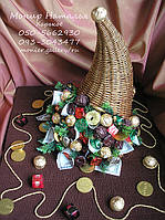 Рог изобилия из конфет Подарок мужчине