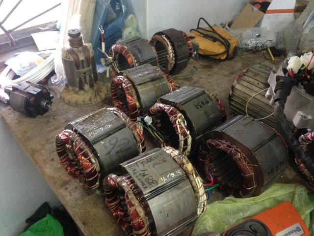 Перемотка генераторов электростанций своими руками 15