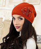 Зимняя женская шапка в 4х цветах 5002