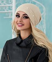 Зимняя женская шапка модная в 14ти цветах 5015