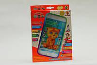 Детский смартфон,интерактивный телефонКот Том цвет белый YNA /2-3