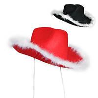 Шляпа Мушкетёра с пухом