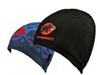 Зимние двусторонние шапки MAMMUT. Купить шапку унисекс. Интернет магазин. Оригинал от бренда. Код: КЕ120