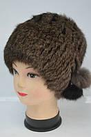 Женская модная шапка-кубанка меховая