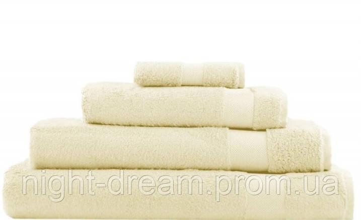 Набор бамбуковых полотенец 3шт. Hamam WATERSIDE IVORI