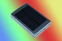 Внешний аккумулятор Solar Charger 15000 mAh + солн.панель