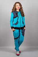 Женский спортивный костюм больших размеров (4 цвета)