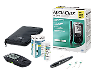 Акку-Чек® Актив глюкометр, прибор для измерения уровня глюкозы (сахара) в крови.