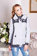 Шикарнейшая толстовка-пальто с капюшоном на флисе s, m, l, xl, xxl, xxxl, р.44-54 есть большие, разные цвета!