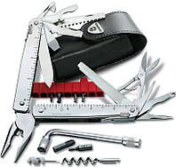Швейцарский функциональный складной нож Victorinox Swisstool Plus 30338.L серебристый