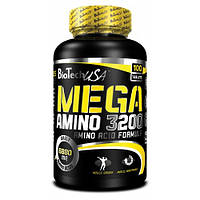 Аминокислоты BioTech Mega amino 3200 (300 таб)