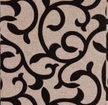 Обивочная ткань Люминс Флок Вензель (Lumins Flock Venzel)  рогожка
