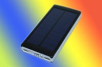 Внешний аккумулятор Solar Charger 25000 mAh + солн.панель