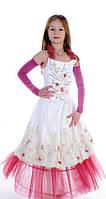 """Нарядное платье """"Розовая дымка"""" прокат 550грн."""