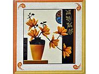 """Картина со стразами 5D """"Солнечные цветы"""" Размер: 58*66 см Код 198292"""
